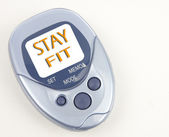 Stay Fit Pedometer — Stock Photo