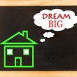 Dream Big House — Stock Photo