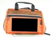 Orange Bag — Stock Photo