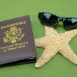 Vacation Passport — Stock Photo