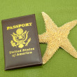 Passport Starfish — Stock Photo