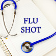 Flu Shot — Stock fotografie