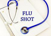 Flu Shot — Stock Photo