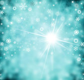 Abstract Winter background abstract bokeh — Stock Photo