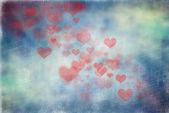Abstract hearts background — Stock Photo