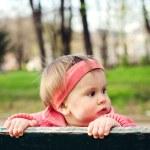 Baby girl — Stock Photo #24054467