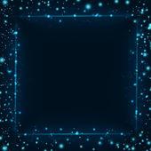 Abstrakte Technologie, Lichteffekte frame — Stockfoto