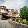 View on old town of Ohrid in Macedonia, Balkans. — Stock Photo #30328253