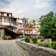View on old town of Ohrid in Macedonia, Balkans. — Stock Photo