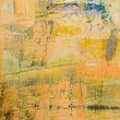Beige and Yellow Abstract Art Painting — Stock Photo