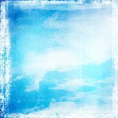 Grunge cloudy sky background — Stock Photo