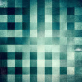 Abstract geometric grungy retro background — Stock Photo