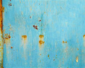 Rusty painted metal background or texture — Stock Photo