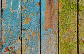 Painted cracked wooden background or texture — Stock Photo