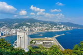 View of Atami and Sagami Bay — Stock Photo