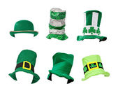Assortment of St Patricks Day Hats — Stock Photo
