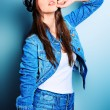 Jeans clothes — Stock Photo #10952305