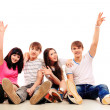 Cheerful students — Stock Photo #10952334