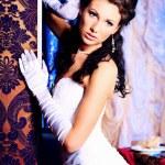 Brunette bride — Stock Photo #11509570