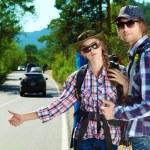 Hitchhiking — Stock Photo #12482455