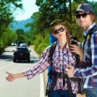 Hitchhiking — Stock Photo #12482455