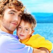 Fathers care — Stock Photo