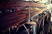 Round tubes — Stock Photo