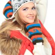 Winter girl — Stock Photo #12797577