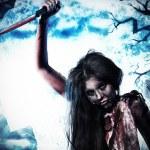 Постер, плакат: Knife zombi