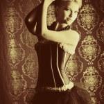 Posing actress — Stock Photo #12882762