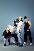 Team dance — Stock Photo