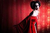 悪魔の女性 — ストック写真