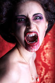 Roar vampire — Stock Photo