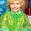 Green dress — Stock Photo #13265207