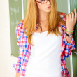 Pretty student — Stock Photo #13265245