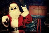 Rockové vánoce — Stock fotografie