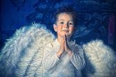 Pray angel — Stock Photo