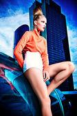 Vogue woman — Stock Photo
