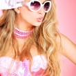 Glamour pink — Stock Photo #13563629
