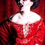Bloody woman — Stock Photo