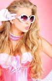 粉红色的魅力 — 图库照片