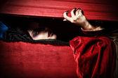 Grave vampire — Stock Photo