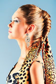 Tresse de cheveux — Photo
