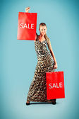 Sale bags — Stock Photo