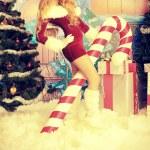 Santa girl — Stock Photo #13751873