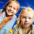 Two girls — Stock Photo
