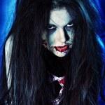 zombie kvinna — Stockfoto
