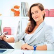 Working woman — Stock Photo