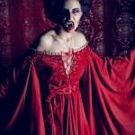 Devil woman — Stock Photo