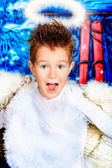 Playful angel — Stock Photo